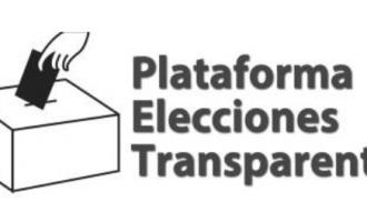 Comunicado contra los medidas del gobierno de cara a las elecciones del 10-N<br><span style='color:#006EAF;font-size:12px;'>PLATAFORMA ELECCIONES TRANSPARENTES</span>