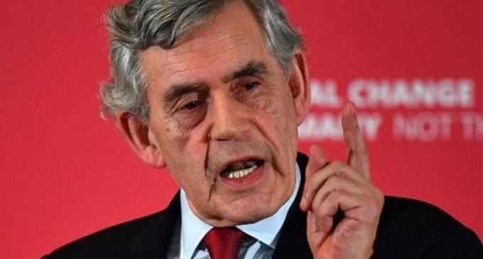 Ex Primer Ministro británico pide un Gobierno Mundial para hacer frente al coronavirus<br><span style='color:#006EAF;font-size:12px;'>GORDON BROWN</span>