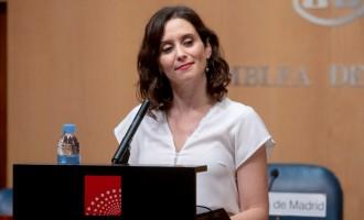 """Ayuso solicita a la UME apoyo por el incremento de menas que el Gobierno """"está enviando"""" a la Comunidad<br><span style='color:#006EAF;font-size:12px;'>EN MADRID</span>"""