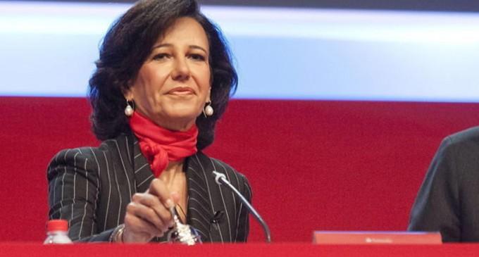 """Ana Botín manifiesta la """"solidaridad"""" del Banco Santander con las protestas raciales en EEUU<br><span style='color:#006EAF;font-size:12px;'>CAPITALISTA ULTRA-PROGRE</span>"""