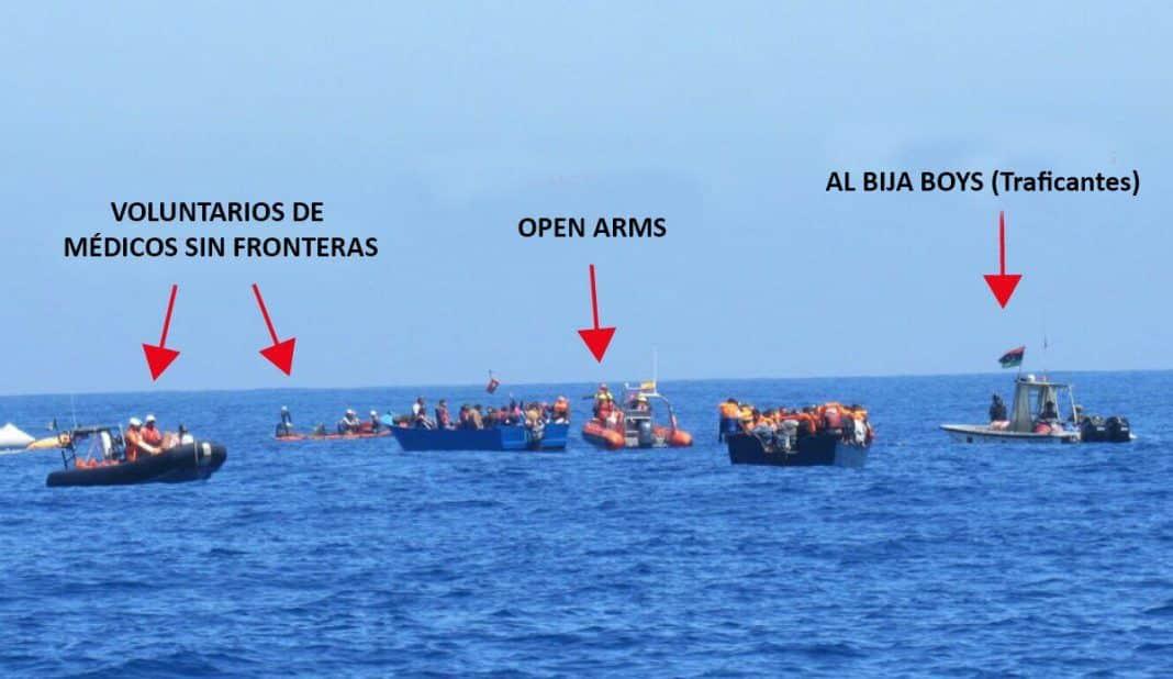 Operación conjunta entre ONGs y Mafias del Tráfico de Personas.