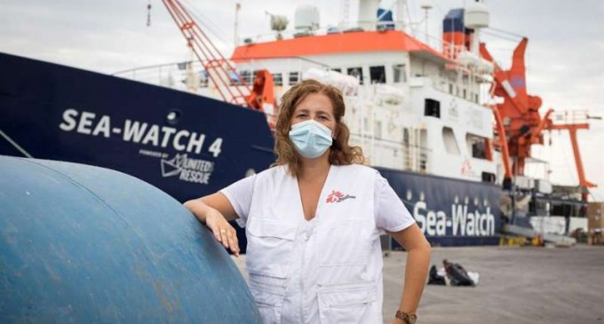"""Sea Watch 4 busca reiniciar sus tareas de """"Rescate"""" en el Mediterráneo Central<br><span style='color:#006EAF;font-size:12px;'>Desde Libia hacia Europa.</span>"""