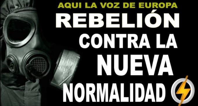 AUDIO: Rebelión contra la nueva normalidad<br><span style='color:#006EAF;font-size:12px;'>RADIO AQUÍ LA VOZ DE EUROPA</span>