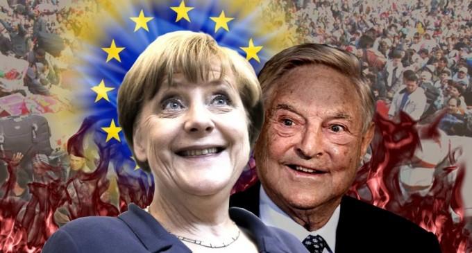 Angela Merkel vuelve a traicionar a Europa<br><span style='color:#006EAF;font-size:12px;'>QUIERE TRAER A MILES DE FALSOS REFUGIADOS</span>