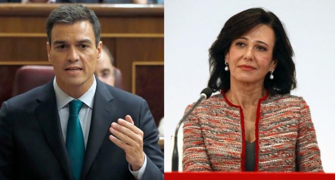 """Ana Botín: """"Es difícil no estar de acuerdo con lo que dijo Pedro Sánchez""""<br><span style='color:#006EAF;font-size:12px;'>ALIANZA PSOE-SANTANDER</span>"""