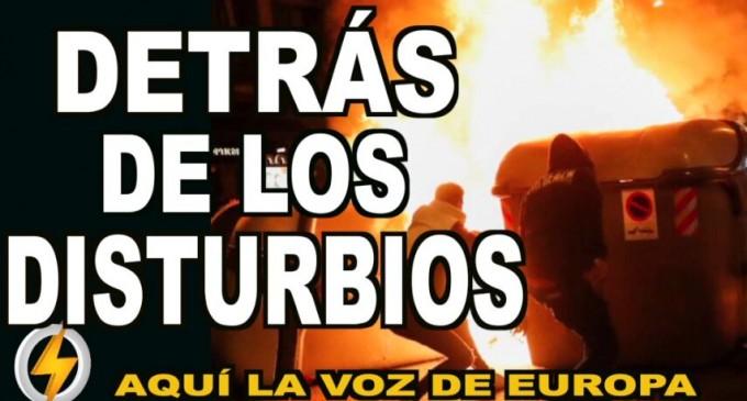 AUDIO: Detrás de los disturbios<br><span style='color:#006EAF;font-size:12px;'>RADIO AQUI LA VOZ DE EUROPA</span>