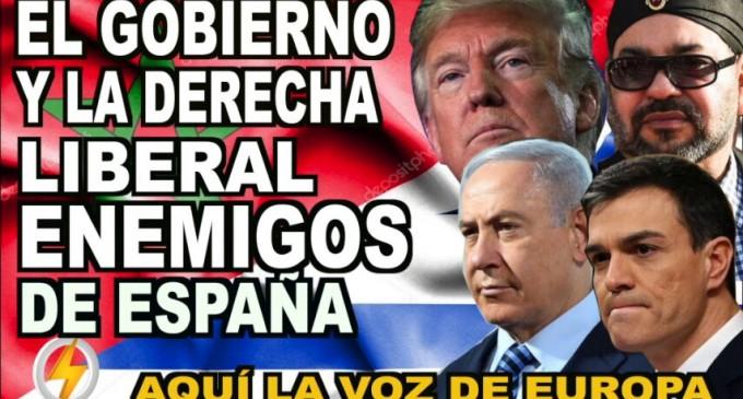 El Gobierno y la Derecha liberal: enemigos de España<br><span style='color:#006EAF;font-size:12px;'>RADIO AQUÍ LA VOZ DE EUROPA</span>