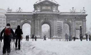 Shock climatológico.<br><span style='color:#006EAF;font-size:12px;'>La borrasca Filomena genera el colapso en ciudades Españolas.</span>