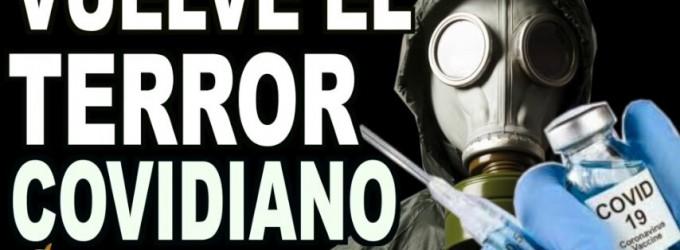 AUDIO: Vuelve el TERROR covidiano<br><span style='color:#006EAF;font-size:12px;'>RADIO AQUÍ LA VOZ DE EUROPA</span>