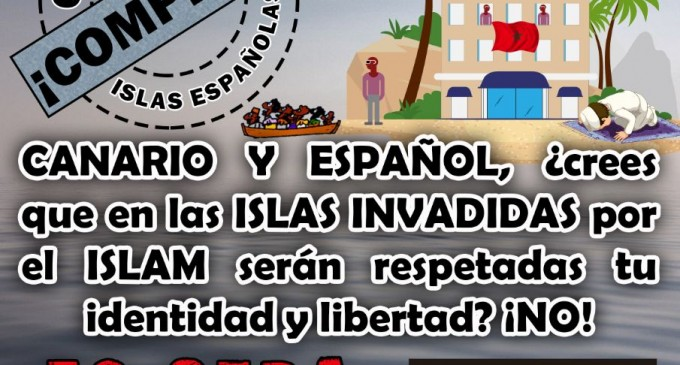 """Magrebíes irregulares: """"Español, te vamos a cortar el cuello""""<br><span style='color:#006EAF;font-size:12px;'>CAOS EN CANARIAS</span>"""