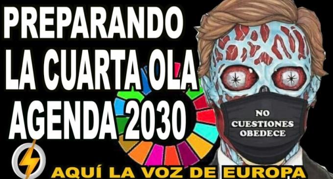 AUDIO: PREPARANDO LA CUARTA OLA/AGENDA 2030<br><span style='color:#006EAF;font-size:12px;'>RADIO AQUI LA VOZ DE EUROPA</span>