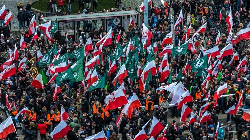 Marsz Niepodleg?o?ci w Warszawie
