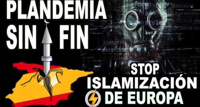 PLANDEMIA sin fin/Stop Islamización de EUROPA<br><span style='color:#006EAF;font-size:12px;'>RADIO AQUÍ LA VOZ DE EUROPA</span>