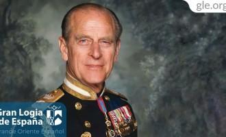"""La Gran Logia de España recuerda a su """"hermano"""" el Duque de Edimburgo<br><span style='color:#006EAF;font-size:12px;'>ACABA DE FALLECER</span>"""