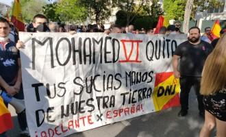 DNJ en la protesta frente a la embajada marroquí<br><span style='color:#006EAF;font-size:12px;'>CRÓNICA</span>