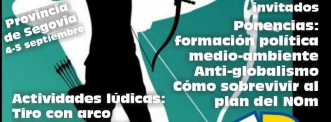 """DN Universidad de Verano """"EL VIRUS ES EL SISTEMA""""<br><span style='color:#006EAF;font-size:12px;'>SEGOVIA 4-5 DE SEPTIEMBRE</span>"""