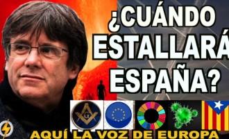 AUDIO: ¿Cuándo estallará ESPAÑA?<br><span style='color:#006EAF;font-size:12px;'>RADIO AQUI LA VOZ DE EUROPA</span>