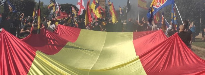 CRÓNICA 12 de Octubre: Acto de Democracia Nacional en Barcelona<br><span style='color:#006EAF;font-size:12px;'>DÍA NACIONAL DE ESPAÑA</span>