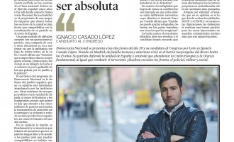 ENTREVISTA A IGNACIO CASADO<br><span style='color:#006EAF;font-size:12px;'>ELECCIONES 2015</span>