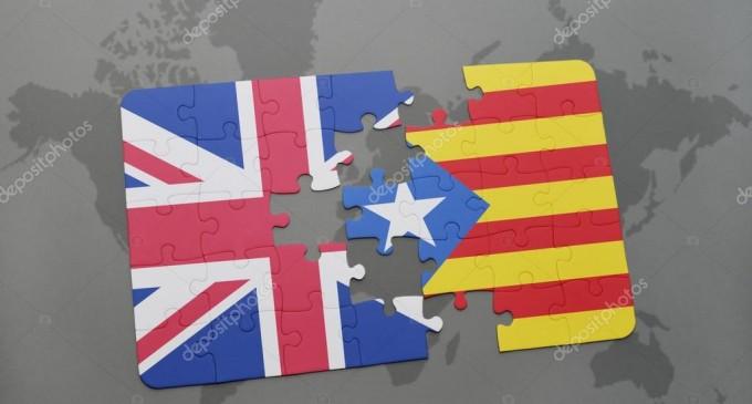 ¿Está apoyando el gobierno británico la independencia de Cataluña?<br><span style='color:#006EAF;font-size:12px;'>DETRÁS DEL SEPARATISMO CATALÁN</span>
