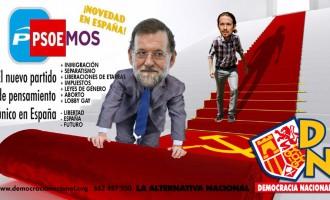 PP y PSOE negocian la mayor traición de la historia de España<br><span style='color:#006EAF;font-size:12px;'>PAREMOS LA TRAICIÓN CON OTRO 2 DE MAYO</span>
