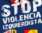 Matrimonio sufre ataque de ultraizquierdistas por mostrar bandera de España<br><span style='color:#006EAF;font-size:12px;'>STOP VIOLENCIA IZQUIERDISTA</span>