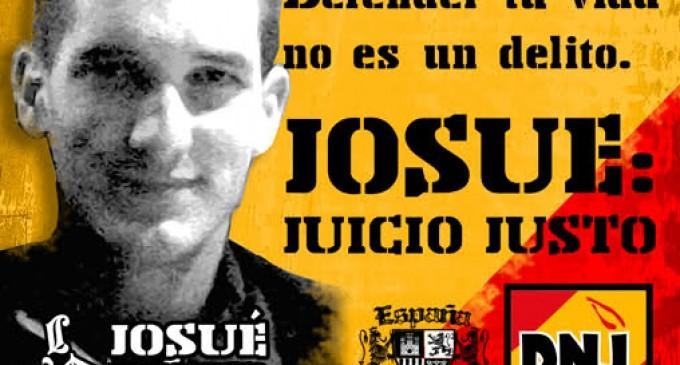 Josué, 10 años en la cárcel. Defender tu vida no es delito<br><span style='color:#006EAF;font-size:12px;'>LIBERTAD PARA JOSUÉ ESTÉBANEZ</span>