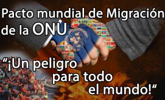 AUDIO: El Pacto Global sobre Inmigración: el fin de Europa<br><span style='color:#006EAF;font-size:12px;'>RADIO AQUÍ LA VOZ DE EUROPA</span>